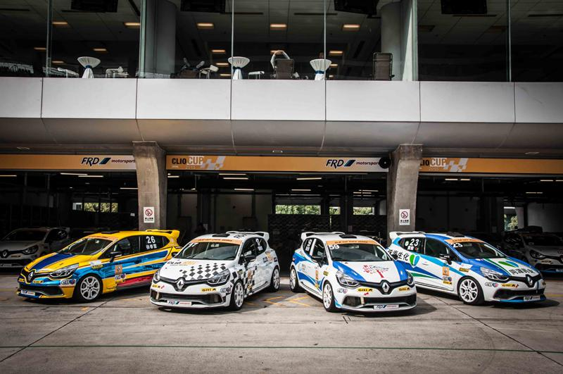 Clio Cup China Series at the last race in Shanghai International Circuit